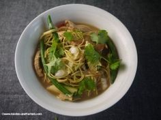 Asian Noodles with Chicken for the 5-2 Diet