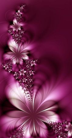 # Digital art  #  Beautiful color it reminds me of my daughter she LOVES all shades of pink..