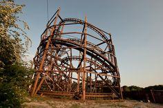 Abandoned Camelot Theme Park, Chorley, June 2013