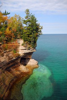 Pictured Rocks National Lakeshore, Michigan, USA