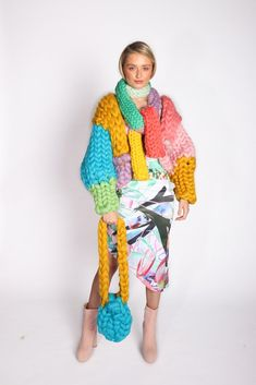 The Colossal Chunky Knit Jacket