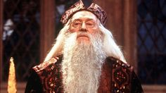 7. Albus Dumbledore- Played by: Richard Harris, Michael Gambon, Toby Regbo