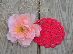 Red cotton coaster, small crochet doilies, handmade coasters, lace doily, small doily, crochet cotton doily, crochet round table cloth Lace Doilies, Crochet Doilies, Doily Wedding, Crochet Round, Lace Weddings, Drink Coasters, Crochet Earrings, Etsy Seller, Valentines