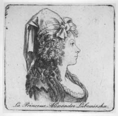 Princesse Rosalie Lubomirska.