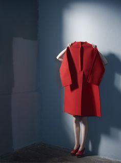 """Comme des Garçons"" photographed by Sophie Delaporte for Idoménée Fashion Book Spring/Summer 2013."