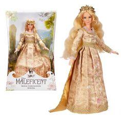 Elle Fanning as Princess Aurora / Briar Rose - Maleficent Royal Coronation Aurora Collector Fashion Doll