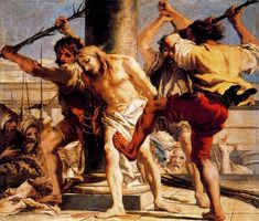 Flagellation of Christ - Giovani Domenico Tiepolo