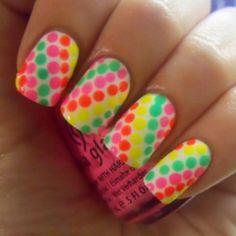 Colorful Fun Nail Designs
