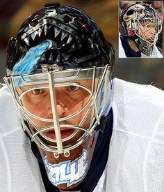 NHL Goalie Masks By Team | ... Bay Lightning - NHL Goalie Masks by Team ('08-'09) - Photos - SI.com