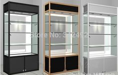 Portable wheel shop display shelving lockable glass cabinet for shopping mall Shop Interior Design, Store Design, Glass Showcase, Display Showcase, Display Shelves, Display Cabinets, Display Ideas, Display Cases, Cabinets For Sale