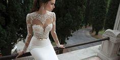 14-15 Berta #lace #wedding #dress