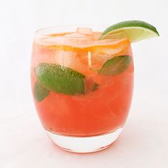 The Perfect Watermelon Cocktail You'll Be Sipping Memorial Day Weekend. (Your guests will die over this drink, trust us.)  #SELFmagazine