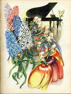 Little Ida's Flowers, illustrated by Maraja