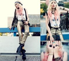 No, I don't need a watch. The time is now or never. (by Lina Tesch) http://lookbook.nu/look/2498867-No-I-don-t-need-a-watch-The-time-is-now-or-never