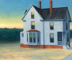 Edward Hopper (1882-1967), Cape Cod Sunset, 1934. oil on canvas, 74 x 92 cm