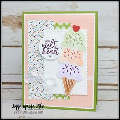 Have A Happy Day, Diy Cards, Craft Cards, Glue Dots, Ink Stamps, Stamping Up, Creative Cards, Homemade Cards, Stampin Up Cards