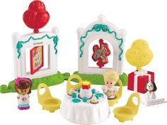 Fisher-Price Little People  Verjaardagsfeest - Speelfigurenset