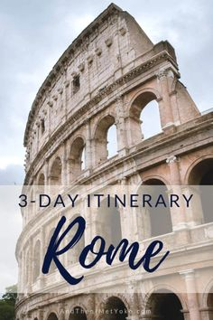 """A itinerary and photographic travel guide to Rome Italy. Includes accommodation and restaurant recommendations along with helpful travel tips. Travel photography and guide by Natasha Lequepeys for """"And Then I Met Yoko"""". Travel With Kids, Family Travel, Rome To Pompeii, Italy Destinations, Family Destinations, Arch Of Constantine, Italy Travel Tips, Rome Travel, Budget Travel"""