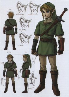 Legend of Zelda – Link « Cosplay Reference Library