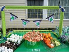 soccer birthday party decor ideas
