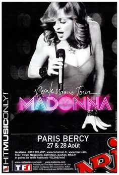 Madonna - Confessions Tour - Paris - Mini Print