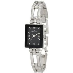 AK Anne Klein Women's 104899BKSB Silver-Tone Black Dial Dress Watch (Watch)  http://postteenageliving.com/amazon.php?p=B002BX1GGG