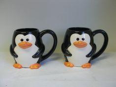 Adorable Penguin Mugs yep....i stay here