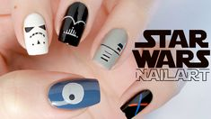 Картинки по запросу star wars nail art