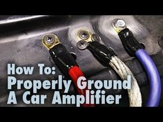 Learn how to properly ground the power/ground wire from your car audio amplifier. Using our demo vehicle, we show you good and bad examples of cable grounds . Mazda 3, Custom Subwoofer Box, Electrical Troubleshooting, Custom Car Audio, Jetta A2, Car Audio Installation, Car Audio Amplifier, Car Audio Systems, Car Sounds