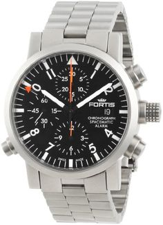 Fortis Men's M Spacematic Automatic Chronograph Alarm Watch Stylish Watches, Watches For Men, Men's Watches, Iwc, Breitling, Cheap Fashion, Mens Fashion, Arnold Son, Watch Model