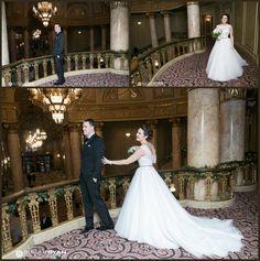 1st look above ballroom at Rialto Square Theatre