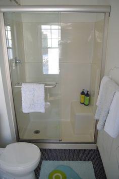 shower door after