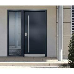 haustür Main Entrance Door, Entrance Gates, Entry Doors, Contemporary Front Doors, Modern Front Door, Window Design, Door Design, Bellevue House, Front Door Porch