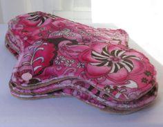 three moderate medium cloth pads minky by MariposasClothPads, $22.00