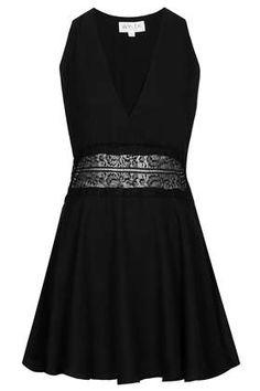 **Chiffon V Neck Dress by WYLDR - Dresses - Clothing