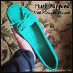 I'm loving my Hush Puppies Ceil Mocc Boat Shoe