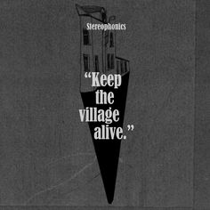 #KeeptheVillageAlive is the #ninth #studio #album by #Welsh #rockband #Stereophonics. #JeddBeaudoin of #PopMatters #gave a #fourstar #review of the #album and called it an #impressive #yield of ace #tracks.