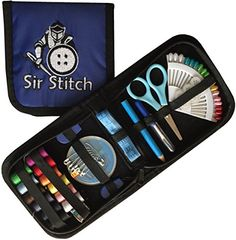 Premium Sewing Supplies Kit for Travel, Home, Vehicles and Emergencies - Best Compact Emergency Mending Set for Beginners and Adults, Girls & Boys, Grandma, Kids and Campers, Mom and Even Dad! + FREE BONUS EBOOK, The Perfect Gift Sir Stitch http://www.amazon.com/dp/B00ODEG0TO/ref=cm_sw_r_pi_dp_zMGRvb00REDP2