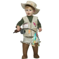 Let your child catch the most fish this Halloween! They will catch your heart as well when you see them in the Future Fisherman Costume. Includes: jumpsuit that has attached vest and boot covers, fish