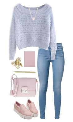 """""""Untitled #75"""" by horansfrenchy ❤ liked on Polyvore featuring Prada, Bloomingdale's and HAY"""
