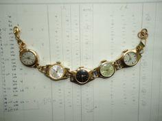 Handmade,Watch,Wrist Watches,Watch Bracelet,Steampunk Bracelet,Dr Who,Clara Oswald,Retro Glamour,Bohemian,Ecochic,Eco Friendly