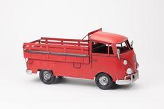 Mealheiro Carrinha VW Vermelha | A Loja do Gato Preto | #alojadogatopreto | #shoponline | referência 74066939