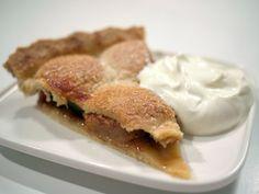 1 stk. æbletærte med creme fraiche - tak!