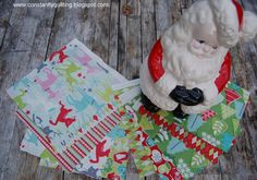 Constantly Quilting: Santa Claus is Coming to Town!