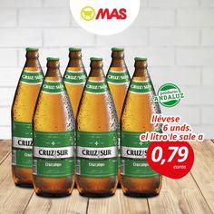 ¡Da la bienvenida al finde con una cervecita! Con esta oferta de Cruz del Sur, ya no tienes excusas!  #Oferta #Cerveza #FelizFinde #ProductoAndaluz
