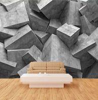 3D Geometric squares 1 WallPaper Murals Wall Print Decal Wall Deco AJ WALLPAPER