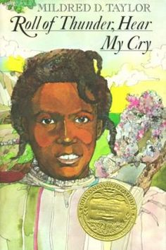 Roll of Thunder, Hear My Cry, Mildred D. Taylor.  One of the Brunswick 8th Grade summer reading books for Adv. Language Arts. A black family living in Mississippi during the Depression of the 1930s is faced with prejudice and discrimination which its children do not understand.