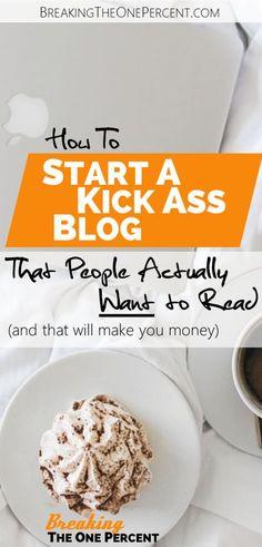 How to Start A Blog | Make Money Blogging | Become and Online Entrepreneur | Side Hustle