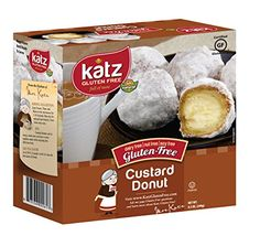 Katz Gluten Free Custard Donuts 85 Ounce Certified Gluten Free Kosher Dairy Nut Soy free Pack of 1 *** Check out this great product. Gluten Free Meal Plan, Gluten Free Diet, Foods With Gluten, Dairy Free, Gluten Free Flour Mix, Gluten Free Donuts, Gluten Free Bakery, Gourmet Desserts, Gourmet Recipes