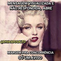 Fica a dica!!! 😉😘 Querido, enquanto tu fica nessa eu aprendi a ser prática, fez joguinho a gente sai com outro amiguinho!  Sim querido, você é substituível, fica a dica!! 😉  @divasdosalto @divasdosalto @divasdosalto  #divasdosalto #brasil #humor #lol